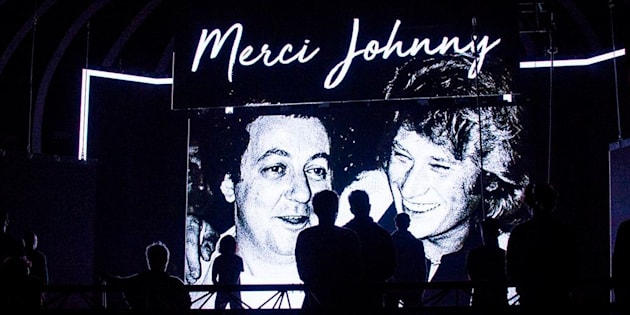 Les Enfoirés ont rendu hommage à Johnny Hallyday
