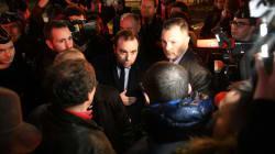 À Fessenheim, le ministre Lecornu froidement accueilli par des salariés en