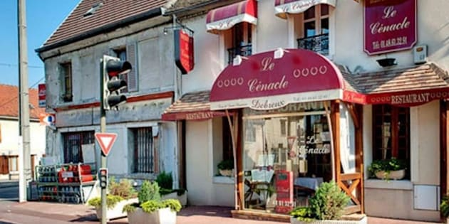 Le restaurant Le Cénacle à Tremblay-en-France.