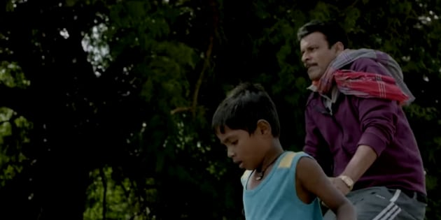 Mayur Patole and Manoj Bajpayee in a still from the movie.
