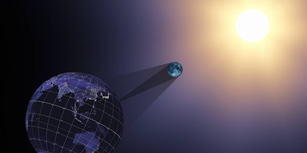 Eclipse se verá parcialmentecon un oscurecimiento de 60 %