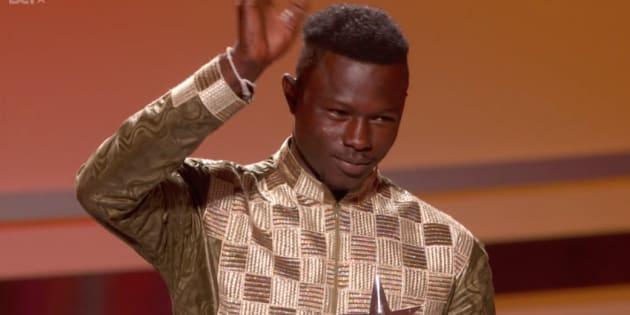 Aux BET Awards, Mamoudou Gassama a été récompensé pour son héroïsme.