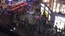 Les images du mouvement de panique à Oxford