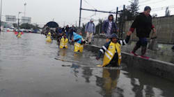 Más de mil toneladas de basura fueron la causa de las inundaciones en