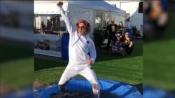 La danse très salissante de Robert Downey Jr. pour une bonne