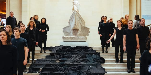 Le mécène Total n'a pas sa place dans les galeries du Louvre.