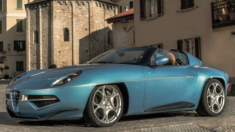 Alfa Romeo Disco Volante For Sale >> Alfa Romeo Disco Volante Spider Is A Beauty In Blue Autoblog