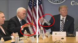 Mike Pence a poussé le mimétisme avec Donald Trump un peu trop