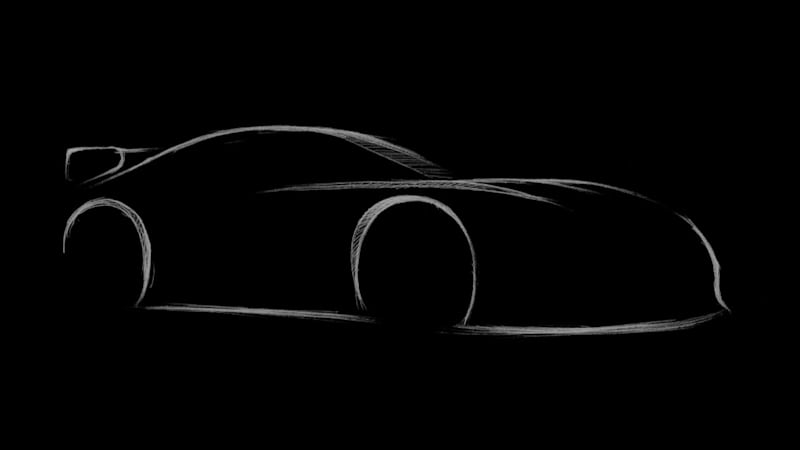 A Toyota Supra Trd Concept Is On Its Way And We Only Have To Wait Till February 9 See It Officially Named The Gr Performance Line