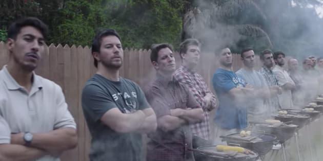 ジレットの広告動画「We Believe」の一場面