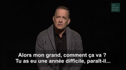 Tom Hanks s'adresse aux États-Unis dans un monologue