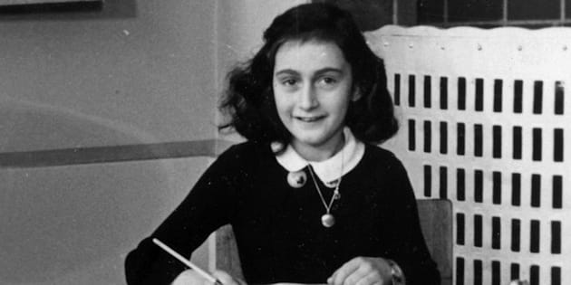 Anne Frank is known from the diary she wrote while in hiding from the Nazis during the war.