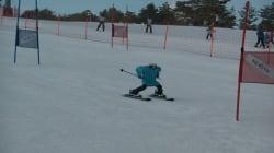 Non loin des JO, cette course de robots skieurs a tenu ses