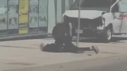 Watch The Takedown That's Earning This Toronto Cop Global