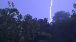 Les images du déluge et des averses de grêle qui ont frappé le