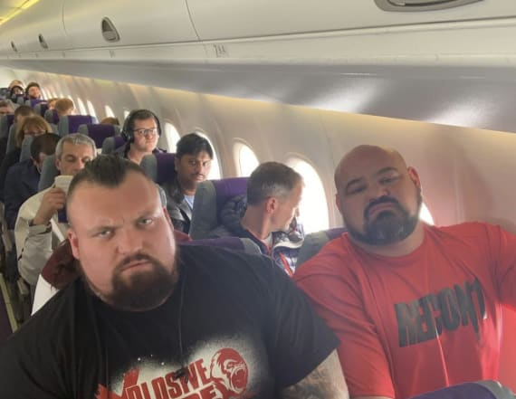 World's Strongest Man winners pose in funny photo