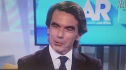El duro 'hachazo' de Aznar a Iglesias en pleno directo que deja a Ana Rosa sin