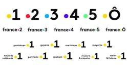 France Télévisions a déposé ces nouveaux logos pour ses