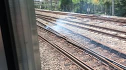 JR埼京線の線路から発煙。山手線などが一時運転見合わせ