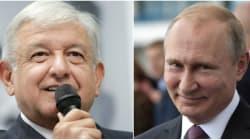 Anuncian posible reunión entre AMLO y Vladimir