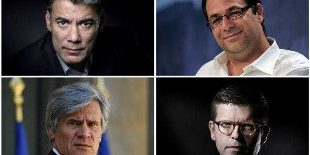 Olivier Faure, Stéphane Le Foll, Emmanuel Maurel et Luc Carvounas débattent ce 7 mars 2018.