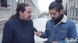 Pablo Iglesias da su respuesta más rotunda a la pregunta de un 'Youtuber':