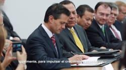 Entregamos un México con nuevo rostro: Peña