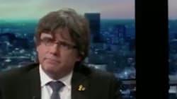 Rifirrafe en directo entre Puigdemont y un periodista: