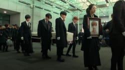 Fans et stars de la K-pop en larmes pour les obsèques de Kim