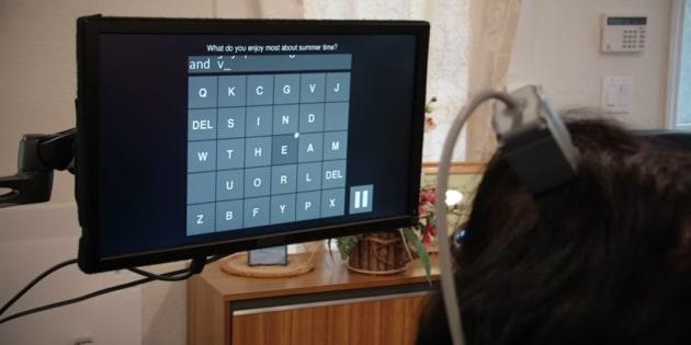 Grâce à un implant, des personnes handicapées arrivent à écrire plusieurs mots à la minute par la pensée.