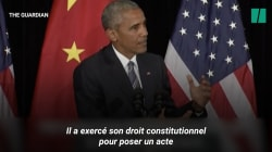 L'année dernière au même moment, Obama, lui, avait soutenu le joueur qui avait boycotté l'hymne