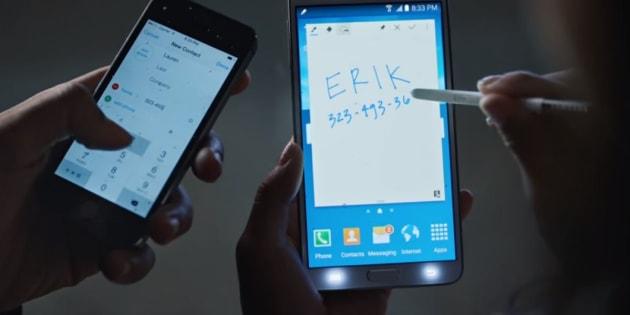 Samsung se paie Apple et son iPhone X dans une nouvelle publicité
