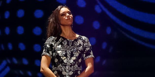 """Alma chante """"Requiem"""" lors des répétitions de l'Eurovision 2017."""