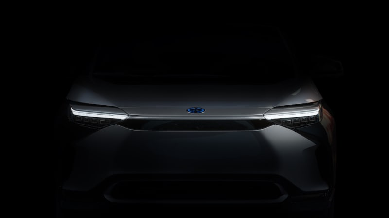 Toyota's first global EV shows its nose ahead of its Shanghai debut
