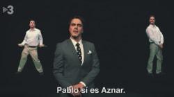 El 'sketch' musical sobre Aznar en Polònia de