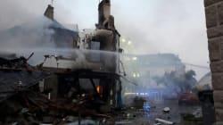 Les images de la violente explosion qui a fait plusieurs blessés à