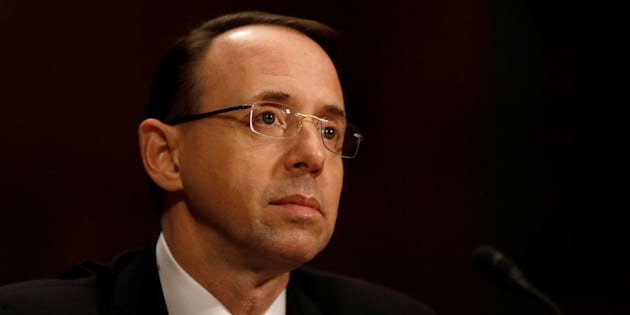 Rod Rosenstein announced Wednesday that a former FBI director will now serve as a special counsel overseeing an investigation into alleged ties between Russia and President Donald Trump's administration.