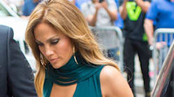 Jennifer Lopez's Gorgeous Dress Has A Surprising Peek-A-Boo