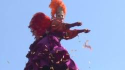 Le vol de l'ange lance les festivités du carnaval de