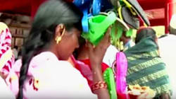 At This Karnataka Festival, Devotees Offer Garlands Of Footwear To The