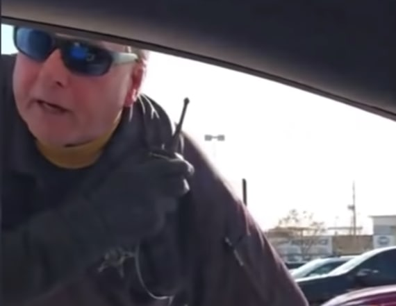 Officer fired after allegedly profiling shoppers