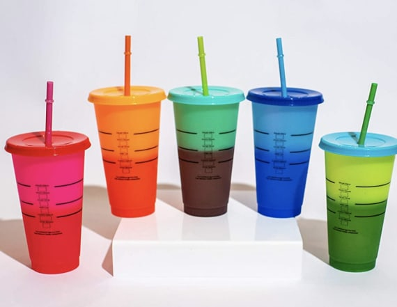 Color-changing cups are the hottest summer accessory