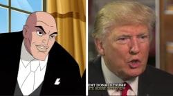 Les mots de Trump sur les images de Lex Luthor, ça colle malheureusement très