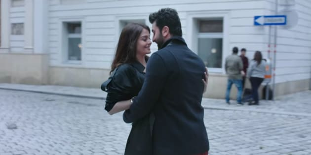 Aishwarya Rai Bachchan and Ranbir Kapoor in a screengrab from the 'Ae Dil Hai Mushkil' teaser.