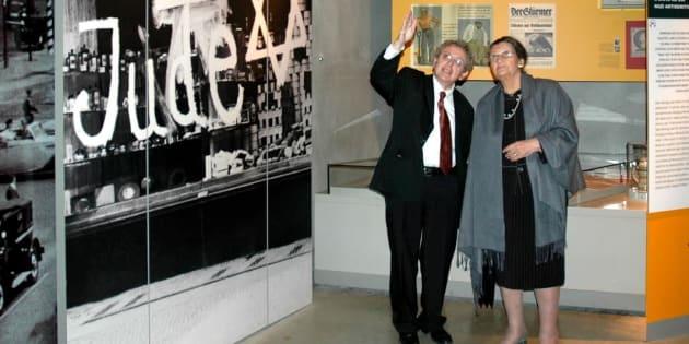 Le jour où j'ai guidé Simone Veil au mémorial de la Shoah à Jérusalem.