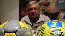 Política y futbol: una vieja promesa de AMLO es la esperanza de este pueblo