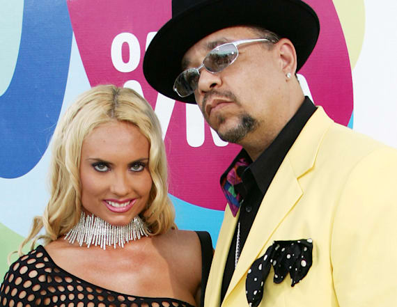 Coco Austin wore a see-through dress to 2005 VMAs