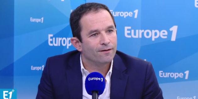 Benoît Hamon découvre en direct et avec deux jours de retard le tweet antisémite de Gérard Filoche.