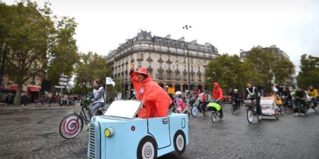 Selon la Mairie de Paris, la journée sans voiture a réduit la pollution jusqu'à 25%