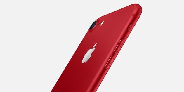 L'iPhone 7 rouge d'Apple servira à financer un programme de lutte contre le Sida, selon la société.